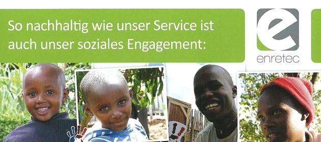 Gemeinsam für mehr Bildung! Eine Initiative des KIDS Kenia e. V. in Kooperation mit enretec.