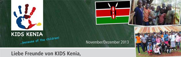 KIDS Kenia Newsletter 2013