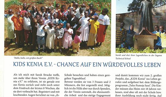Travemünder Mövenpost: KIDS Kenia e.V. - Chance auf ein würdevolles Leben
