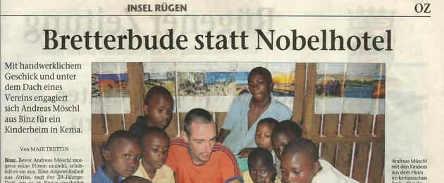 20. Juli 2007 – OZ Insel Rügen – Bretterbude statt Nobelhotel