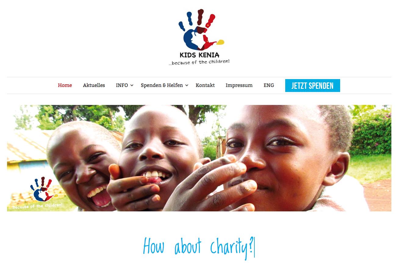 Wir haben eine neue Webseite - KIDS Kenia e.V. - www.kids-kenia.de